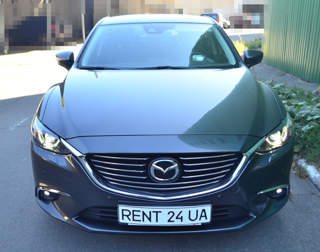 Mazda 6 New rent a car