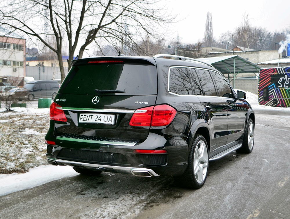 прокат авто Mercedes-Benz GL550