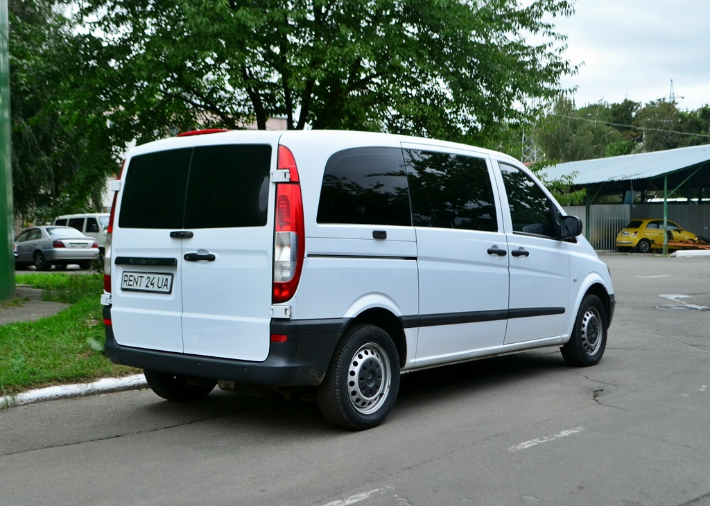 Mercedes Vito rent a car