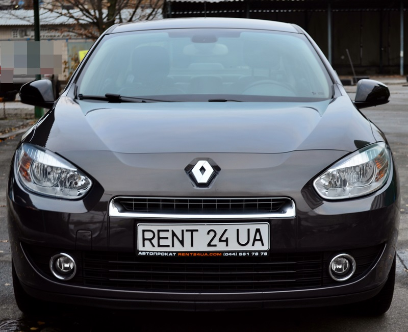 Renault Fluence rent a car